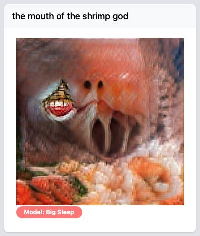 Mouth of Shrimp God