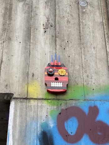 Lego Street Art Innsbruck