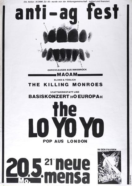 1985-05-20_komm_maom_killing monroes_lo yo yo - anti-ag fest nach der kommschliessung