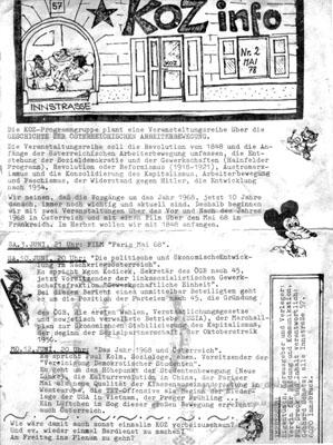 koz info nr 2 - 5/1978