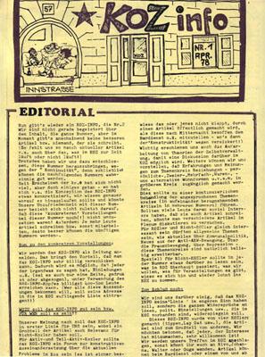 koz info nr 1 - 4/1978