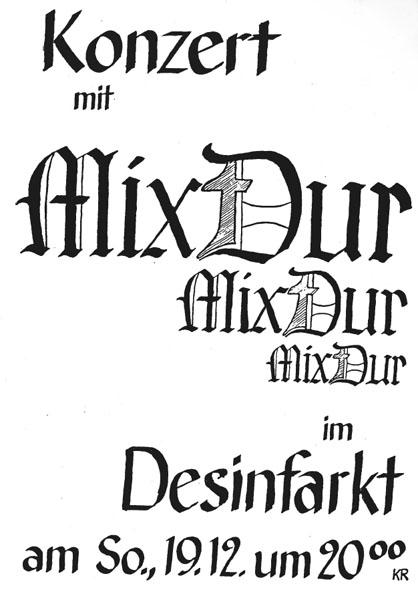 desinfarkt plakat MixDur