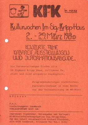 kennedyhaus kulturwochen 1980