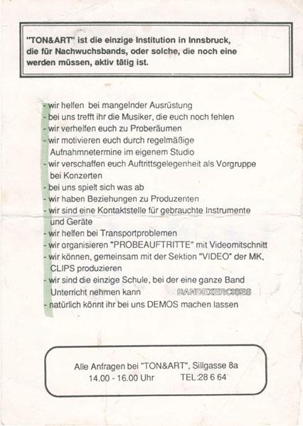 Tonart Info 2