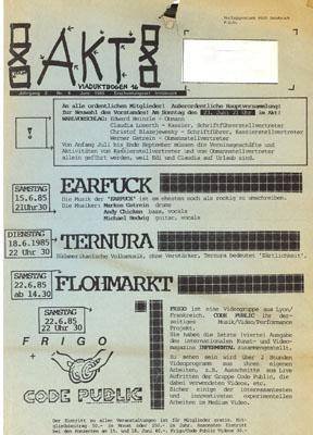 aktprogramm 06-1985
