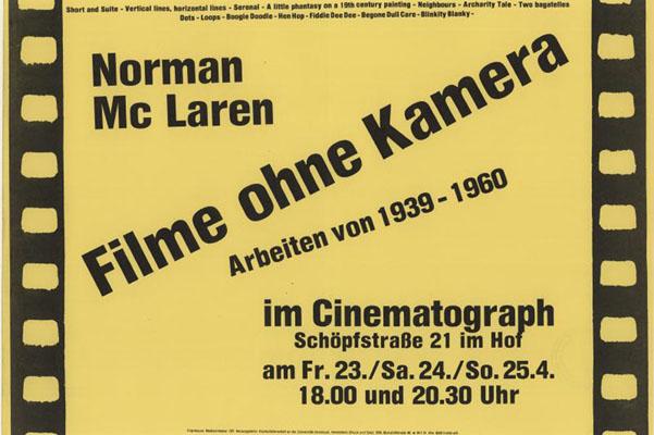 cinematograph mclaren-filmreihe 1982