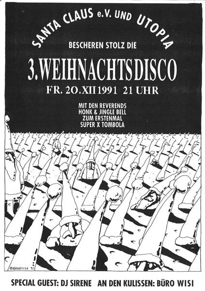 1991-12-20_utopia_santa claus_weihnachtsdisco  (pöschl, trawöger, nikolussi)