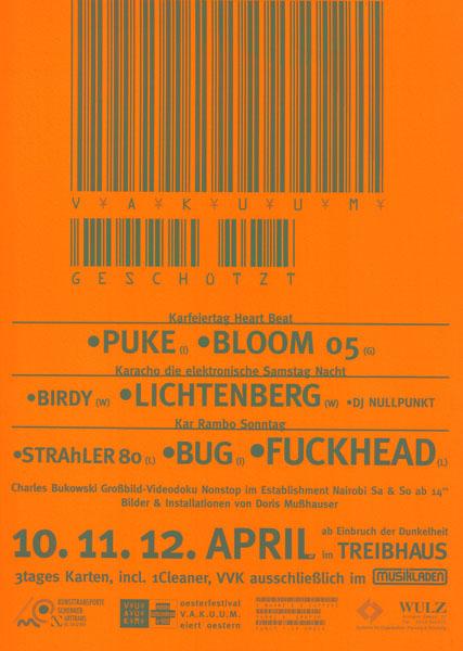 1998-04-10_treibhaus_vakuum_puke_bloom 05_lichtenberg_strahler 80_bug_fuckhead_1