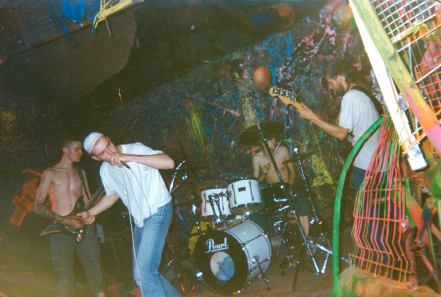 haven - kold-u-shok - 1992 - Otto Horvath voice - Jez Moser bass - Markus Eckmüller git - Steve Forkapic drums