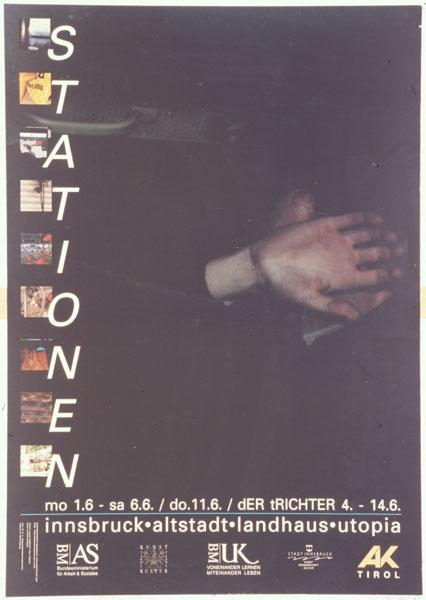 utopiaplakat - 1992-05-01 - stationen - der trichter