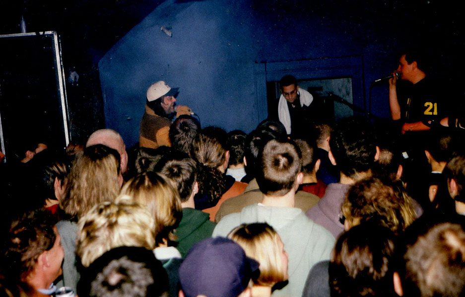 Total Chaos im Roxy 1996