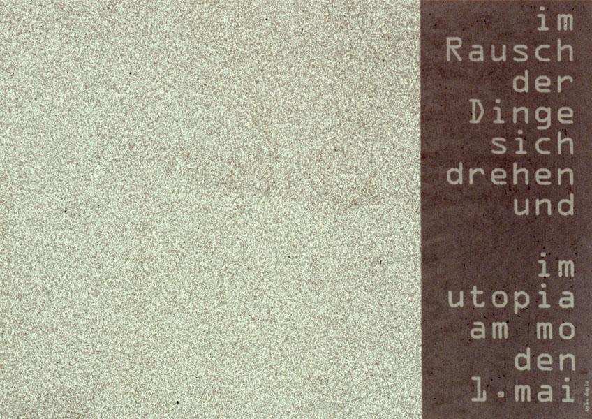 1995-05-01_utopia_cunst&co_rausch der ding 1