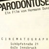cinematograph flugzettel
