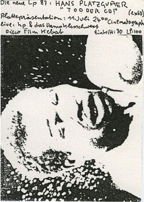 cinematograph - 1987-07-11 - platzgumer