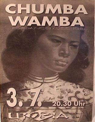 utopiaplakat - 1992-07-03 - chumbawamba