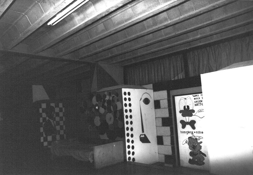 Kennedyhaus - Innenansicht