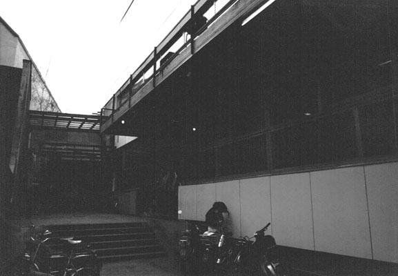 kennedyhaus - eingang