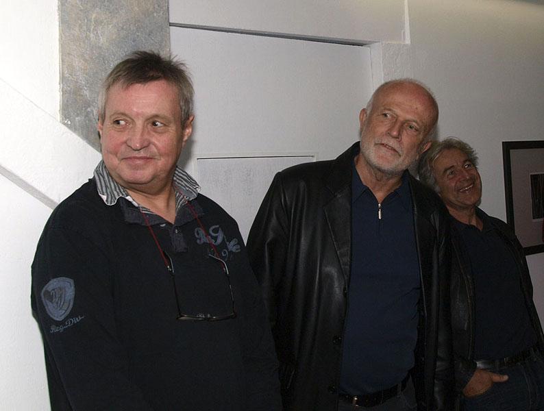 Stefan Heim & Laudator Gerhard Tarmann/Landesmuseum Ferdinandeum