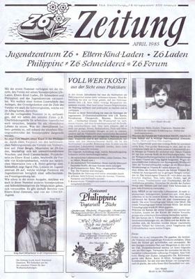 z6 zeitung 1985-04